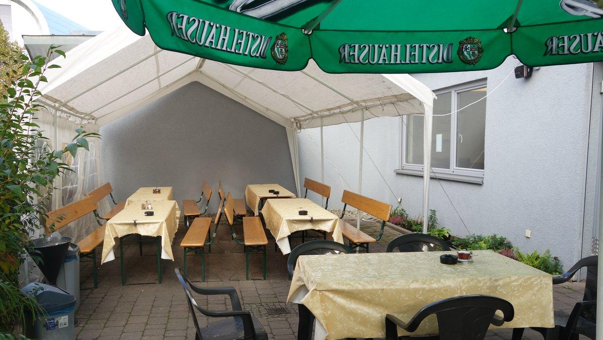 Biergarten in Neckarsulm